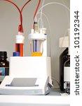 Modern laboratory equipment - stock photo
