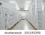 Medical warehouse - stock photo