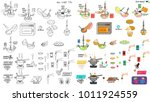 recipe cake pops diy... | Shutterstock .eps vector #1011924559