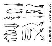 illustration of grunge sketch... | Shutterstock .eps vector #1011927280