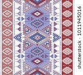geometric aztec pattern. tribal ...   Shutterstock .eps vector #1011945016