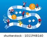 career and board game | Shutterstock .eps vector #1011948160