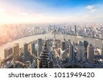 shanghai skyline and cityscape | Shutterstock . vector #1011949420
