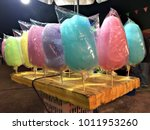 cotton candy in the temple... | Shutterstock . vector #1011953260