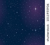 vector space seamless pattern | Shutterstock .eps vector #1011955936