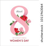 march 8  international women's... | Shutterstock .eps vector #1011963064