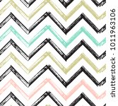 Chevron Zigzag Paint Brush...