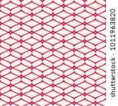 vector mesh seamless pattern.... | Shutterstock .eps vector #1011963820