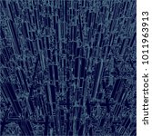 futuristic megalopolis city of... | Shutterstock .eps vector #1011963913