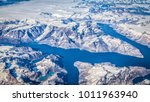 aerial panoramic view of rugged ... | Shutterstock . vector #1011963940