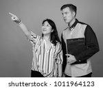studio shot of young handsome...   Shutterstock . vector #1011964123