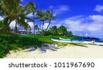 perfect exotic vacation  ... | Shutterstock . vector #1011967690