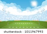 american football arena field... | Shutterstock .eps vector #1011967993