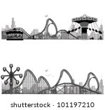 vector illustration.roller... | Shutterstock .eps vector #101197210