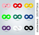 colorful icon of endless... | Shutterstock .eps vector #1011972616