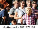 atlanta  ga  usa   october 21 ... | Shutterstock . vector #1011979198