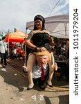 atlanta  ga  usa   october 21 ... | Shutterstock . vector #1011979204