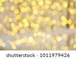 christmas lights background....   Shutterstock . vector #1011979426