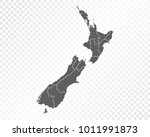 map of new zealand   vector... | Shutterstock .eps vector #1011991873