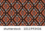 tribal vector ornament.... | Shutterstock .eps vector #1011993436