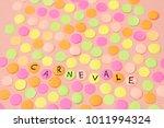 hand written the word in...   Shutterstock . vector #1011994324