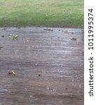 Rain Storm Splashes Water...