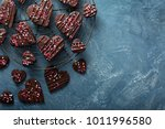 Chocolate Hearts Cookies With...