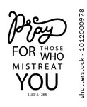 hand lettering pray for those... | Shutterstock .eps vector #1012000978