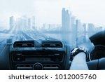 transportation  import export... | Shutterstock . vector #1012005760