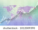 stock market and exchange.... | Shutterstock .eps vector #1012009390