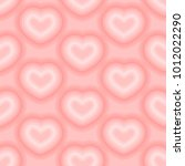 heart pattern vector | Shutterstock .eps vector #1012022290