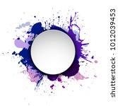 banner blot presentation ... | Shutterstock .eps vector #1012039453