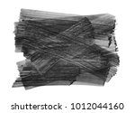 brush stroke and texture. smear ... | Shutterstock . vector #1012044160
