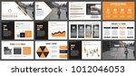orange and black business... | Shutterstock .eps vector #1012046053