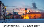 royal castle in the capital of... | Shutterstock . vector #1012051894