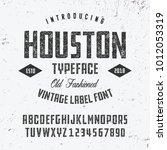 original handmade alphabet.... | Shutterstock .eps vector #1012053319