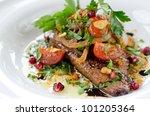 veal liver | Shutterstock . vector #101205364
