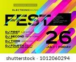 vector bright music poster for... | Shutterstock .eps vector #1012060294
