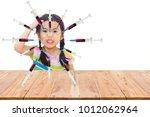 children with drug overdose. | Shutterstock . vector #1012062964