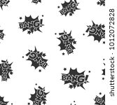 bang comic sound effects... | Shutterstock .eps vector #1012072828