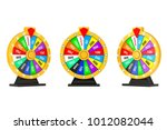 luck and fortune concept.... | Shutterstock . vector #1012082044