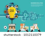 business concept for business... | Shutterstock .eps vector #1012110379