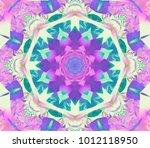 digital magenta abstract... | Shutterstock . vector #1012118950