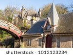 grade ii listed building at... | Shutterstock . vector #1012123234