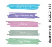 light pink blue violet green... | Shutterstock .eps vector #1012124686