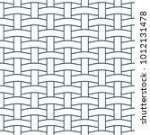 basket weave seamless pattern.... | Shutterstock .eps vector #1012131478