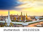 the beautiful of  wat phra kaew ... | Shutterstock . vector #1012132126