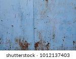 texture of metal surface | Shutterstock . vector #1012137403