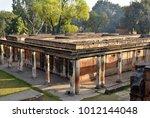 ruined british residency ... | Shutterstock . vector #1012144048