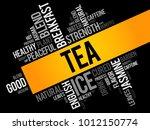 tea word cloud collage  food... | Shutterstock .eps vector #1012150774